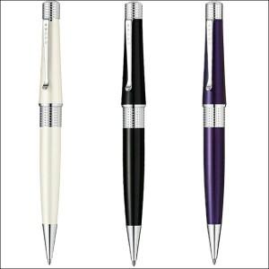 クロス CROSS ベバリー ボールペン アイボリー/ブラック/ディープパープル AT0492