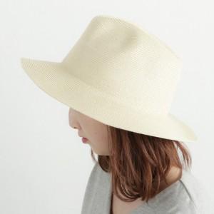 ハット レディース レディース小物 メンズ ユニセックス 男女兼用 細ペーパー ブレード 中折れハット 帽子 女性用