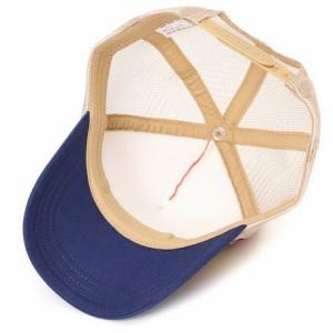 帽子 キッズ 小物 スマイル ワッペン メッシュ キャップ 子供服 洋品