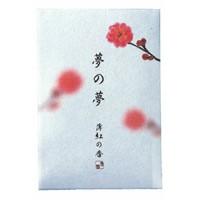 日本香堂 NIPPONKODO 夢の夢 薄紅の香(うすくれない) お香 スティック 12本 アロマ