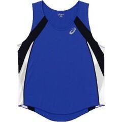 アシックス 陸上競技用 M'Sランニングシャツ XT1036 [カラー:ブルー] [サイズ:XO] #XT1036 ASICS 送料無料 9%OFF