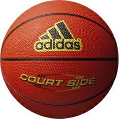 アディダス ADIDAS コートサイド バスケットボール 5号球 #AB5122BR スポーツ・アウトドア