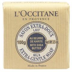 ロクシタン L OCCITANE シアソープ ミルク 100g 化粧品 コスメ SAVON SOAP MILK SHEA BUTTER