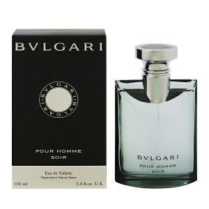 【あす着】BVLGARI ブルガリ プールオム ソワール EDT・SP 100ml 香水 フレグランス BVLGARI POUR HOMME SOIR