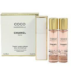 送料無料 シャネル CHANEL ココ マドモワゼル ツイスト EDP・SP 20ml×3 香水 フレグランス COCO MADEMOISELLE TWIST AND