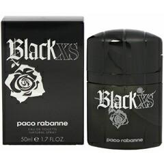 パコラバンヌ PACO RABANNE ブラック エクセス EDT・SP 50ml 香水 フレグランス BLACK XS