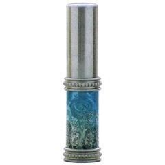 【香水 ヒロセ アトマイザー】HIROSE ATOMIZER ラメ 薔薇 ガラスアトマイザー 16121 (メタルラメバラ シルバー) 4ml