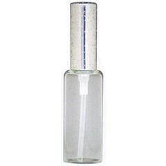 ヒロセ アトマイザー HIROSE ATOMIZER ラメ アルミキャップ ガラス アトマイザー 65188 (ラメCAP 10ML シルバー) 10ml