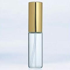 ヤマダアトマイザー YAMADA ATOMIZER グラスアトマイザー プラスチックポンプ 無地 6201 アルミキャップ ゴールド 10ml