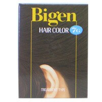 【ホーユー】 ビゲン ヘアカラー #7G 自然な黒褐色 HOYU ヘアケア