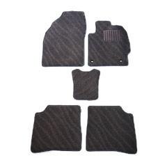天野 NBOX プラス 年式:H24〜 フロアマット一式 エクセレント [カラー:ブラック ウェーブ] AMANO 送料無料 日用品・生活雑貨