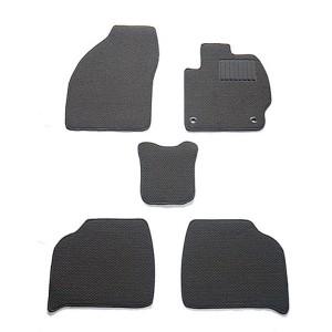 天野 AMANO AZワゴン 年式:H14〜H15 (コラムシフト) フロアマット一式 スタンダード [カラー:ブラック] カー用品