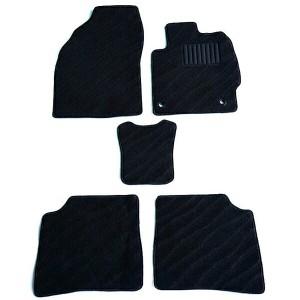 天野 シエンタ 年式:H23〜H27 2WD フロアマット一式 エクセレント [カラー:ブラック ウェーブ] AMANO 送料無料 カー用品