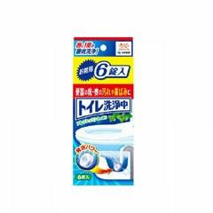 小林製薬 KOBAYASHI PHARMACEUTICAL トイレ洗浄中 6錠入り 日用品・生活雑貨