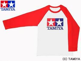 TAMIYA タミヤ オリジナルグッズ ラグランTシャツ長袖 (赤) ジュニアL 玩具