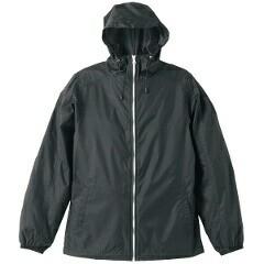 ユナイテッドアスレ ナイロン フルジップジャケット(一重) [カラー:ブラック×ホワイト] [サイズ:XL] #702501-2001 UNITED ATHLE