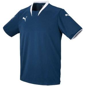プーマ PUMA V-KON ジュニア半袖ゲームシャツ [カラー:ネイビー×ホワイト] [サイズ:130] #903289-01 スポーツ・アウトドア