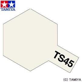 TAMIYA タミヤカラースプレー TS-45 パールホワイト 玩具