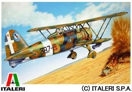 イタレリ 1/72 航空機 No.1263 フィアット CR42 AS ITALERI 送料無料 玩具