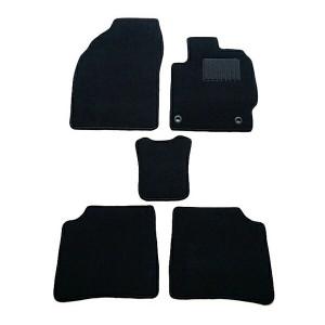 天野 AMANO レクサス GS 年式:H17~H23 型式:UZS190 (2WD/ハイブリット共通) フロアマット一式 無地 [カラー:ブラック] カー用品