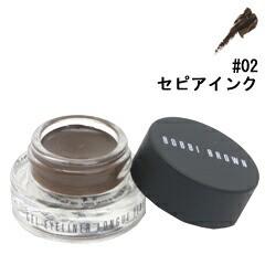 送料無料 【ボビイ ブラウン】ロングウェアジェルアイライナー #02 セピアインク 3g BOBBI BROWN 化粧品