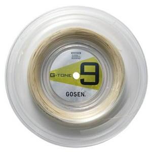 ゴーセン GOSEN G-TONE 9 ロール バドミントンガット [カラー:ナチュラル] [長さ:200m] #BS0692-NA スポーツ・アウトドア