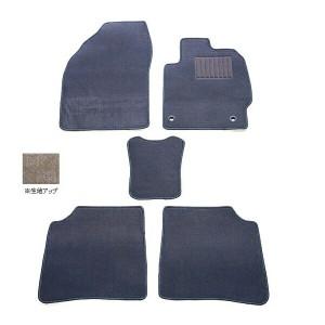 天野 フィット 年式:H19〜H25 フロアマット一式 スクエア [カラー:グレー] AMANO 送料無料 カー用品