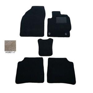 天野 アイシス 年式:H16〜H24 フロアマット一式 (2WD コンソールBOX有) スクエア [カラー:ブラック] AMANO 送料無料 カー用品