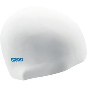 アリーナ ARENA シリコンキャップ(イージーシリコンキャップ) [カラー:ホワイト×ブルー] [サイズ:50〜59cm] #ARN-4400-WHBU