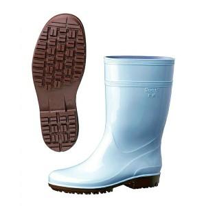 MIDORI ANZEN ミドリ安全 ハイグリップ長靴 HG2000N ブルー 25cm キッチン用品