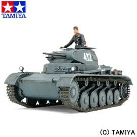 タミヤ 1/48 ミリタリーミニチュアシリーズ No.70 ドイツ II号戦車A〜C型 (フランス戦線) TAMIYA 送料無料 玩具