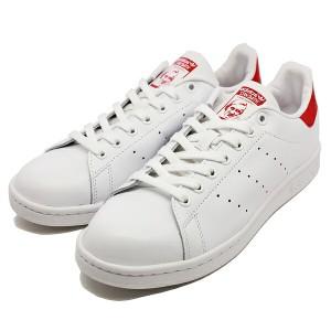 【アディダス 靴】アディダス スタンスミス [サイズ:23cm(US5)] [カラー:ホワイト×レッド] #M20326 ADIDAS 送料無料 靴