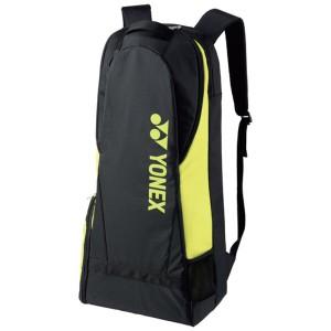 ヨネックス YONEX ラケットリュック(テニスラケット2本用) [カラー:ブラック×ライムグリーン] [サイズ:35×18×72cm] #BAG1738-723