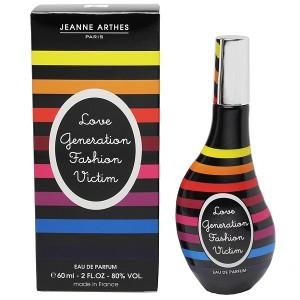 【ジャンヌアルテス】 ラブ ジェネレーション ファッション ビクティム オーデパルファム・スプレータイプ 60ml JEANNE ARTHES 香水
