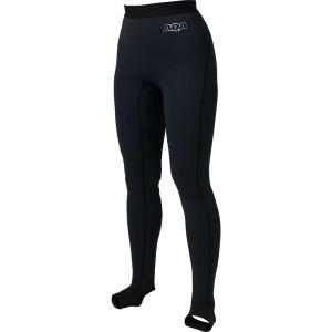 エーキューエー AQA UVスノーケリング トレンカレディース [サイズ:M] [カラー:ブラック] #KW-4608-01 スポーツ・アウトドア