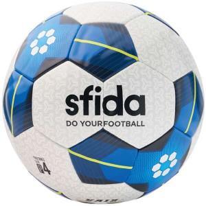 【スフィーダ】 VAIS JR サッカーボール 4号球 [カラー:ホワイト×ブルー] #BSF-VA03-1 SFIDA スポーツ・アウトドア