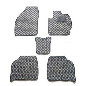 天野 フリードプラス 型式:GB5/6 年式:H28〜 5人乗り 4WD チェック [カラー:ブラック×グレー] AMANO 送料無料 カー用品