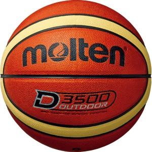 モルテン MOLTEN アウトドアバスケットボール 6号球 [カラー:ブラウン×クリーム] #B6D3500 スポーツ・アウトドア