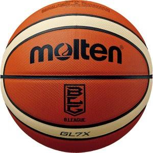 送料無料 【モルテン】 バスケットボール 7号球 GL7X Bリーグ公式試合球 #BGL7XBL MOLTEN スポーツ・アウトドア