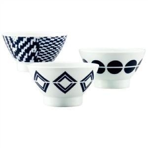 【西日本陶器】 波佐見焼 絵変り トリオ茶碗 939573 NISINIHON TOUKI キッチン用品
