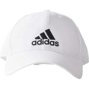 アディダス ADIDAS ロゴキャップ EMB [カラー:ホワイト×ブラック] [サイズ:OSFZ(54-57)] #BXA66-BK0794 スポーツ・アウトドア