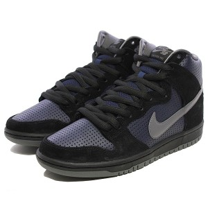 ナイキ SB ダンク ハイ TRD QS [サイズ:26.5cm(US8.5)] [カラー:ブラック×ライトグラファイト×オブシディアン] #881758-001 NIKE 靴