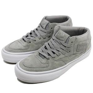 23%OFF 送料無料 バンズ ハーフキャブ プロ (25周年)  [サイズ:27.5cm(US9.5)] [カラー:シルバー] #VN0A38CPPHD VANS 靴