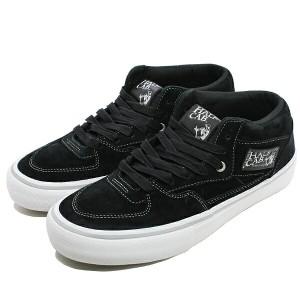 23%OFF 送料無料 バンズ ハーフキャブ プロ (25周年)  [サイズ:28cm(US10)] [カラー:ブラック×シルバー] #VN0A38CPPHC VANS 靴