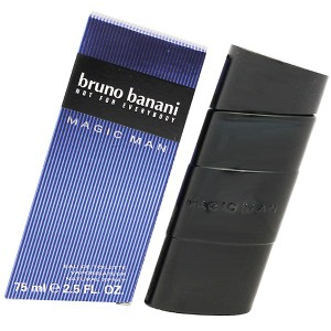 送料無料 【ブルーノバナーニ】マジック マン オーデトワレ・スプレータイプ 75ml BRUNO BANANI 香水 MAGIC MAN