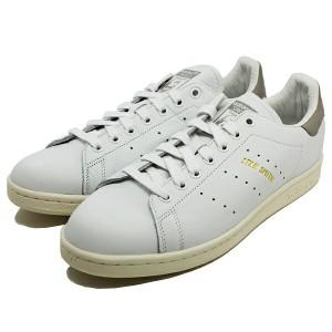 10%OFF 送料無料 アディダス スタンスミス [サイズ:26cm(US8)] [カラー:ホワイト×グレー] #S75075 ADIDAS 靴 adidas STAN SMITH