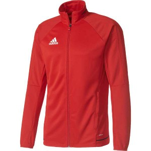 送料無料 アディダス TIRO17 トレーニングジャケット [サイズ:M] [カラー:スカーレット×ブラック×ホワイト] #MMC67-BQ2710 ADIDAS