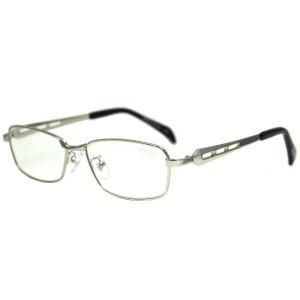 ナンバー Number Reading Glasses(ファッション 老眼鏡) [度数:+2.00] [カラー:マットシルバー] #NBR-30021 NUMBER 送料無料