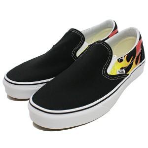 送料無料 バンズ スリッポン (フレーム) [サイズ:27.5cm(US9.5)] [カラー:ブラック×ブラック×ホワイト] #VN0A38F7PHN VANS 靴