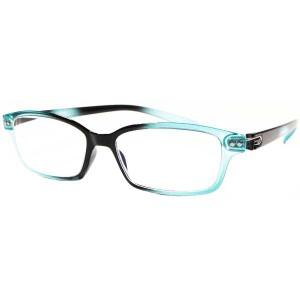 Nice Eyes Reading Glasses(ファッション 老眼鏡) [度数:+1.00] [カラー:シャイニーブラック×クリスタルライトブルー] #NER-20063